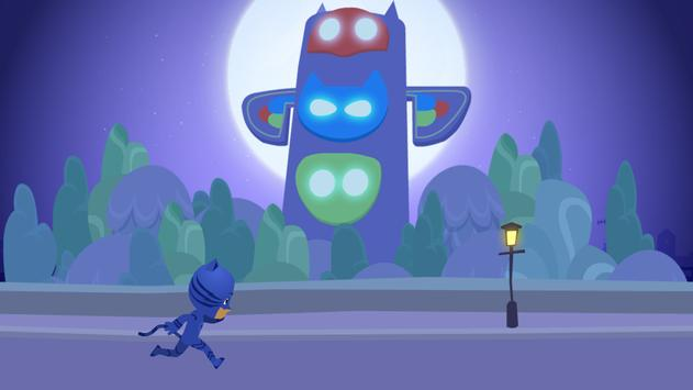 Super PJ Dash Masks Runner Smash World screenshot 2
