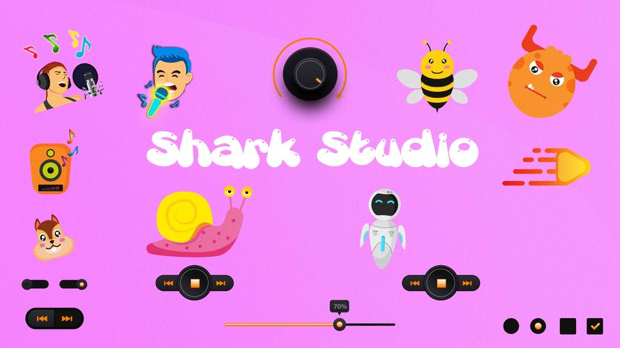 Shark Studio - Awesome music effects