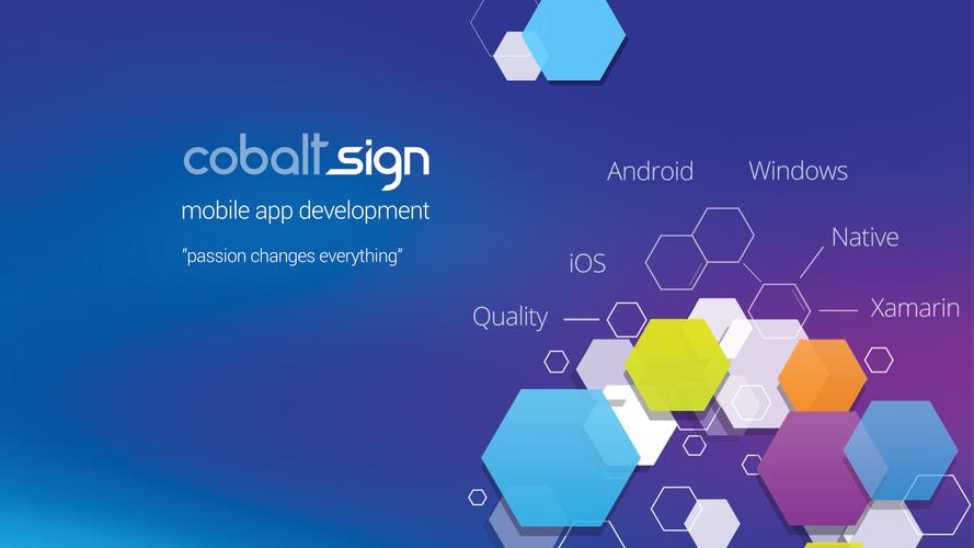 Cobalt Sign