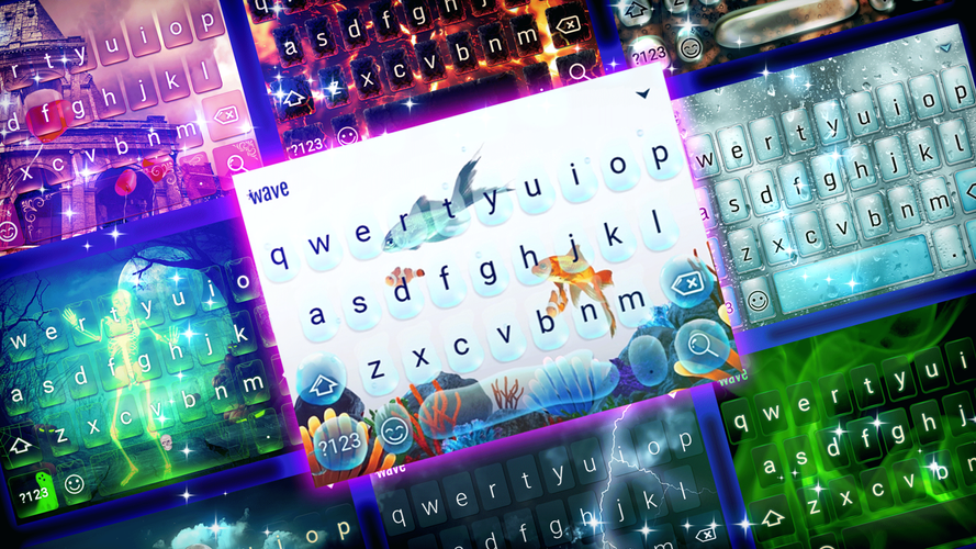 Keyboard Background for Android Apps