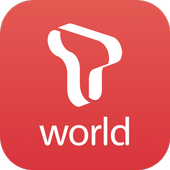 T world ícone