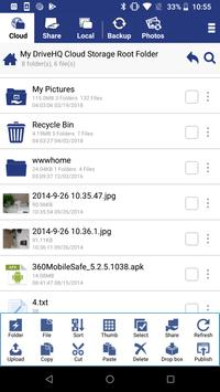 Cloud File Manager स्क्रीनशॉट 2
