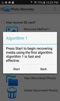 Photo Recovery screenshot 1