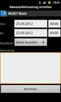 WinZEIT Mobile screenshot 5