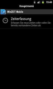 WinZEIT Mobile screenshot 2
