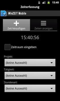 WinZEIT Mobile screenshot 3