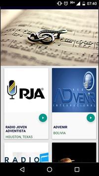 Radios Adventistas 24/7 screenshot 1