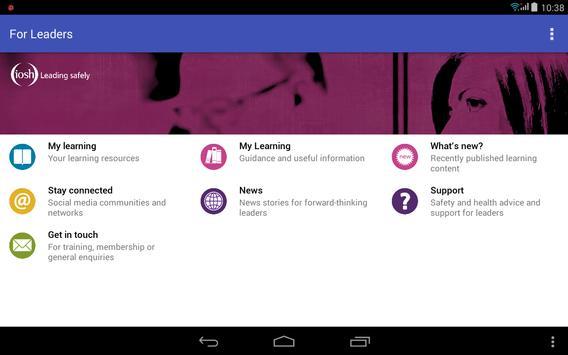 For Leaders screenshot 5