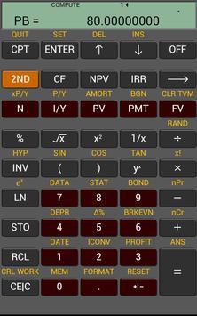 Ba Financial Calculator plus 截图 8