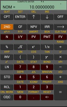 Ba Financial Calculator plus 截图 9