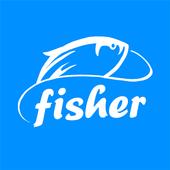 Fishing alarm icon