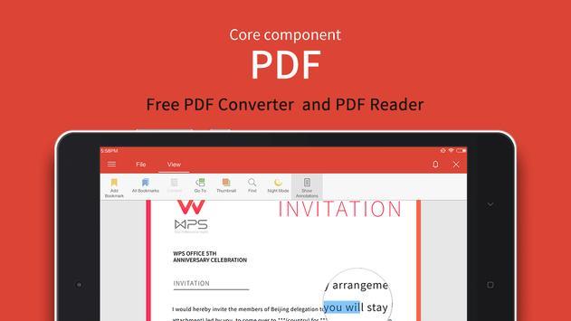 WPS Office स्क्रीनशॉट 10