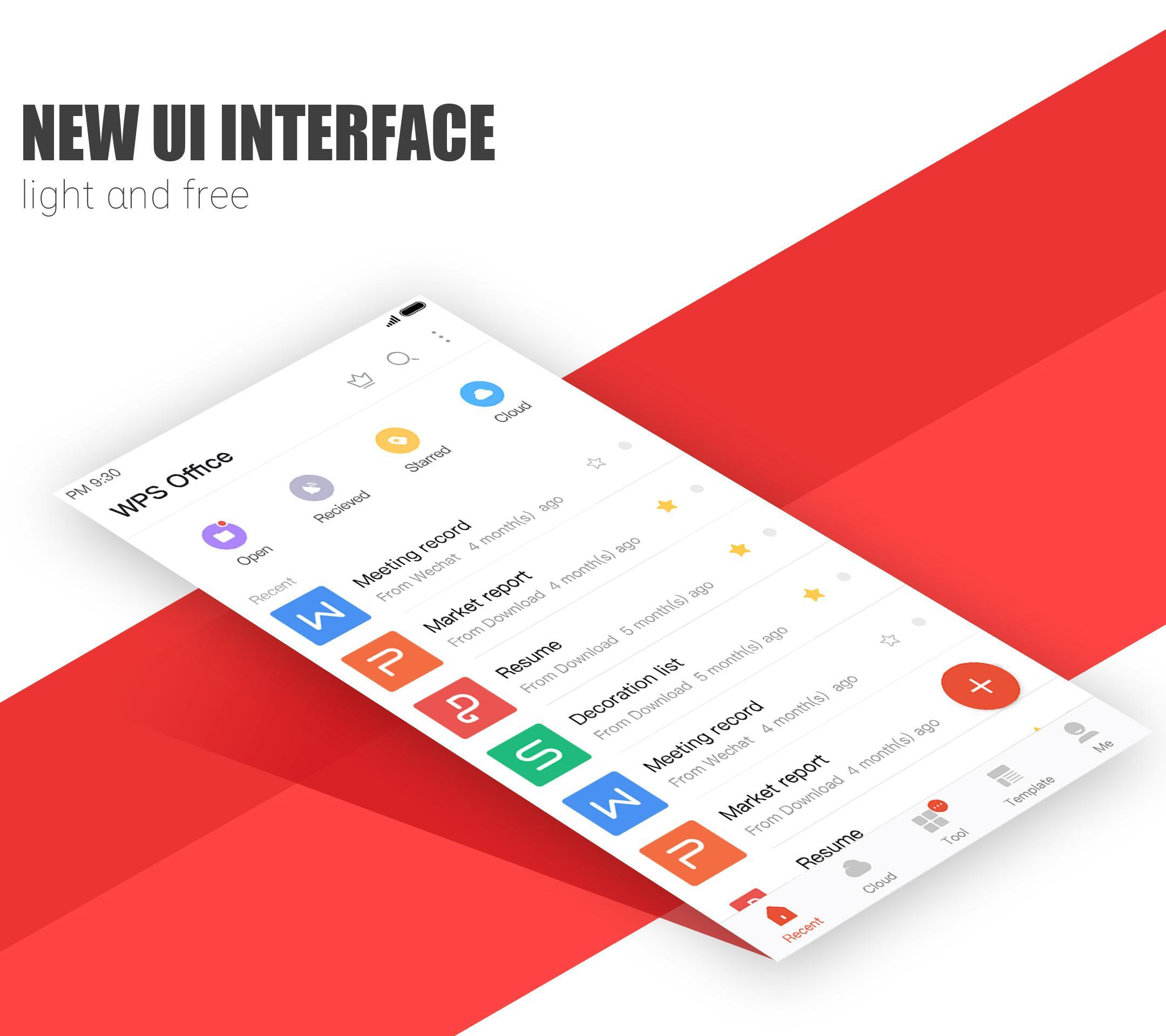 WPS Office cho Android - Tải về APK