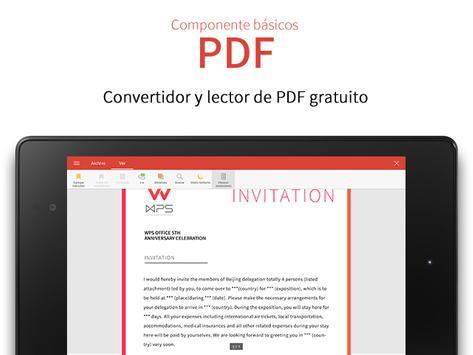 WPS Office captura de pantalla 16