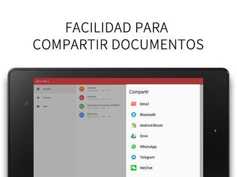 WPS Office captura de pantalla 19