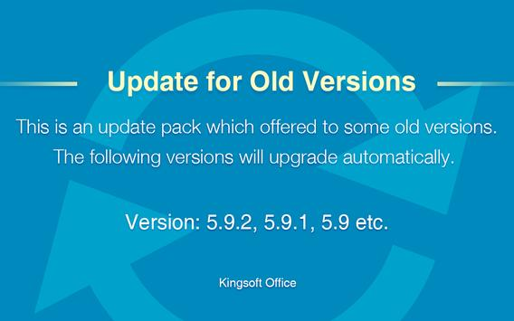 Update for Old Versions स्क्रीनशॉट 2