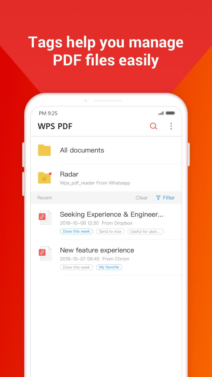 WPS PDF for Android - APK Download
