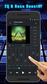 Equalizer Music Player - Free Music for YouTube screenshot 1