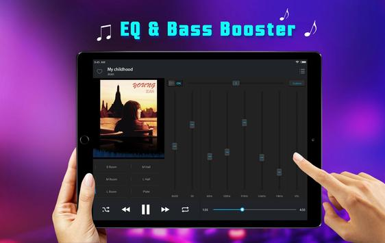 Equalizer Music Player - Free Music for YouTube screenshot 8