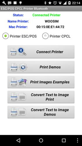 ESC/POS CPCL Printer Bluetooth for Android - APK Download