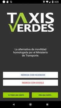 Taxis Verdes poster