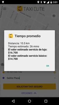 Taxi Élite screenshot 4