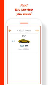 TRIP User: easy way to get taxi rides in Colombia screenshot 3