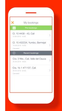 TRIP User: easy way to get taxi rides in Colombia screenshot 4