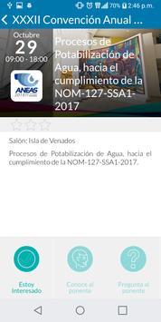 Convención ANEAS 2018 screenshot 3