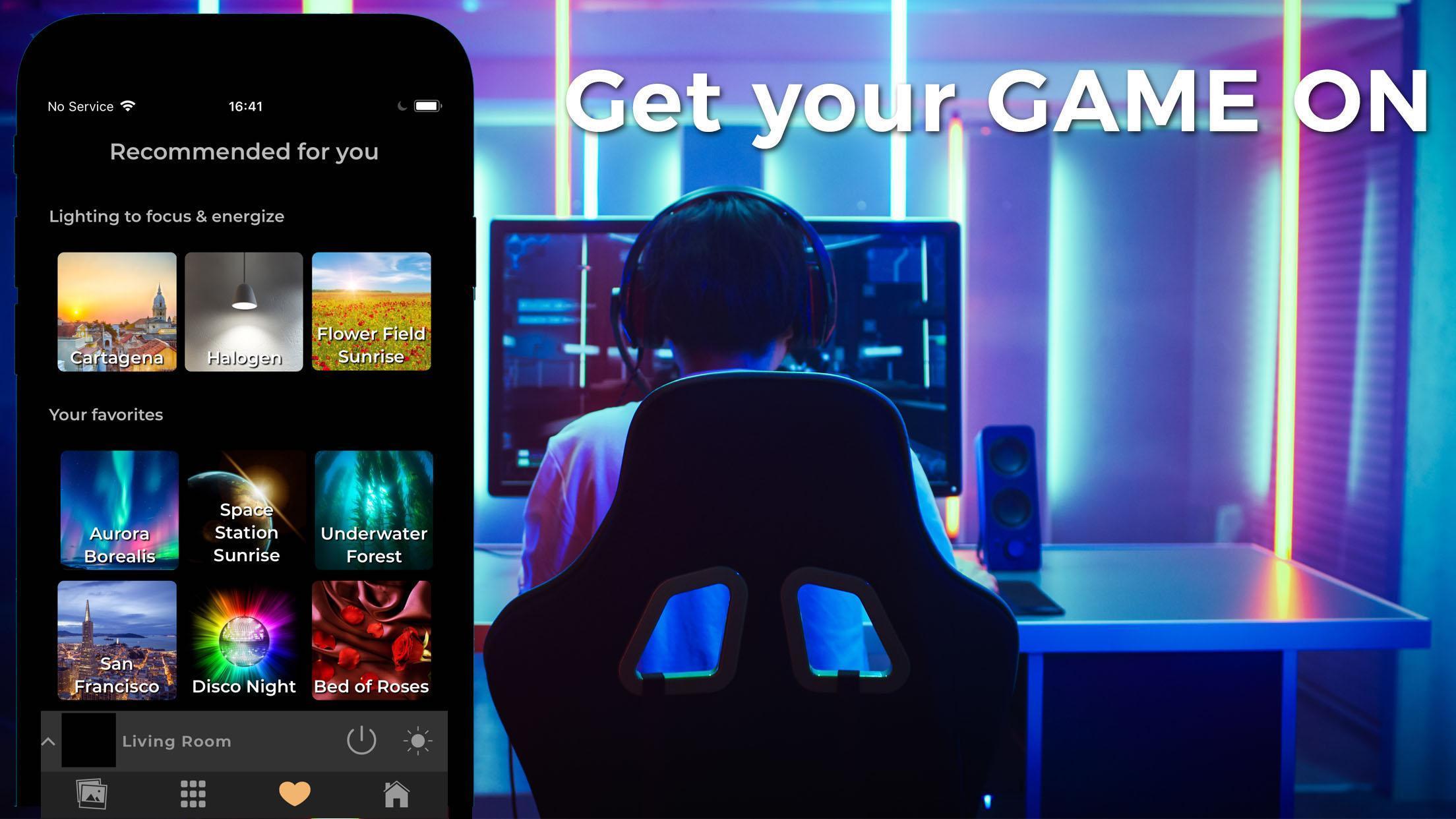 Lighter for Philips Hue Lights : Best Light Scenes for Android - APK