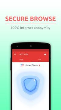 2 Schermata HOT VPN