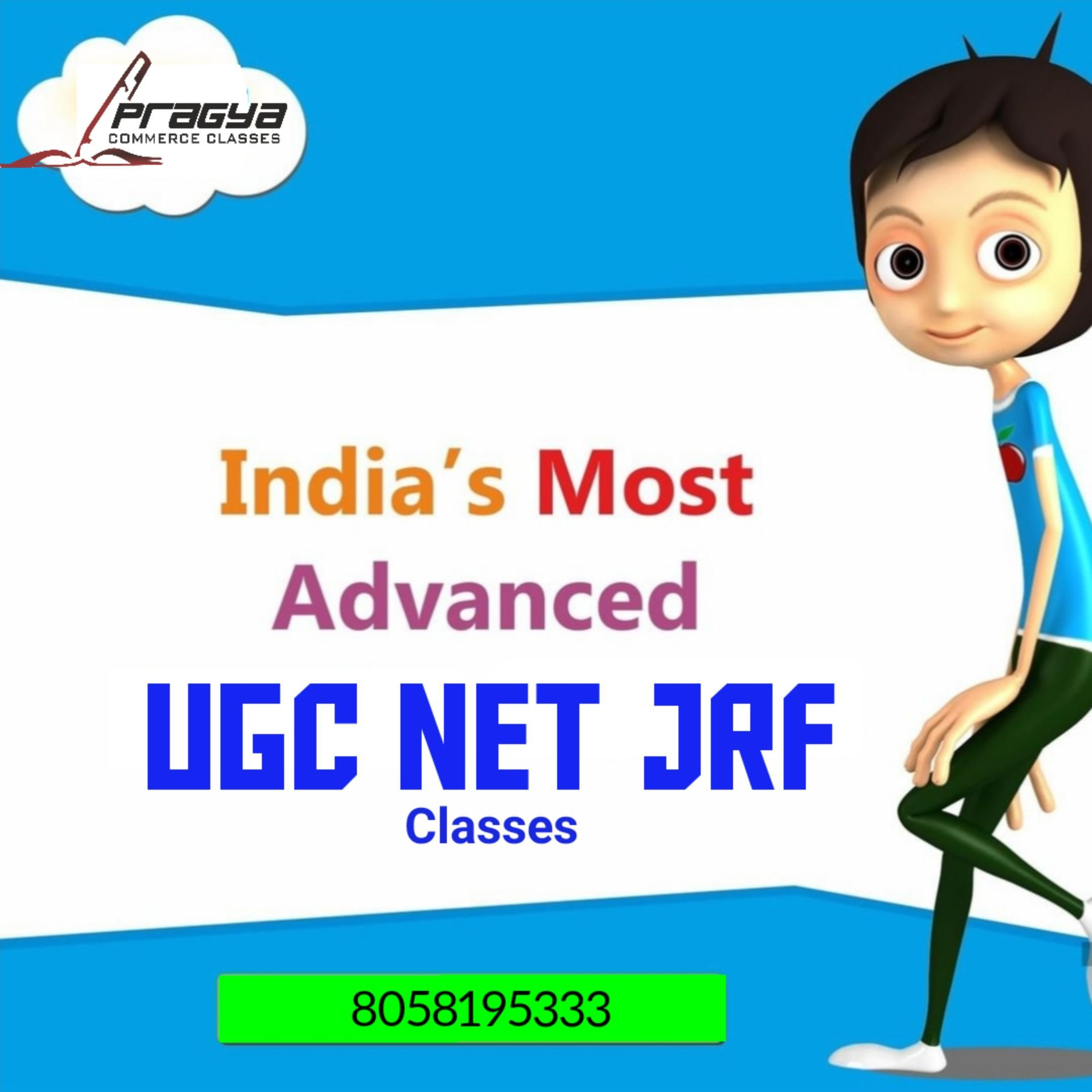 UGC NET JRF (Pragya Classes) poster