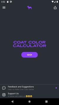Coat Color постер