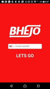 BHEJO: Book a Taxi, Send Parcels & Order Groceries screenshot 4