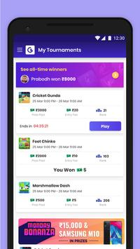 3 Schermata Play & Win Unlimited (Games khelo, Paise jeeto)!