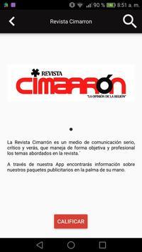Revista Cimarron screenshot 1