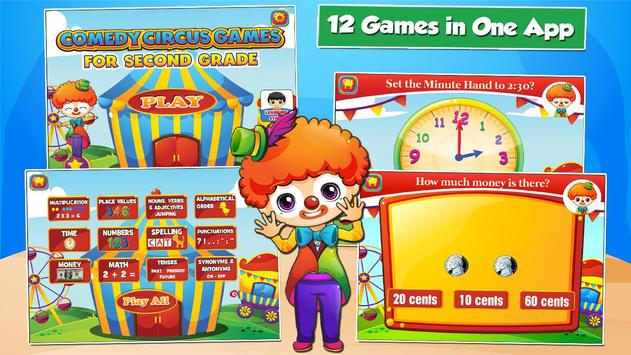 Second Grade Games: Circus Fun screenshot 4