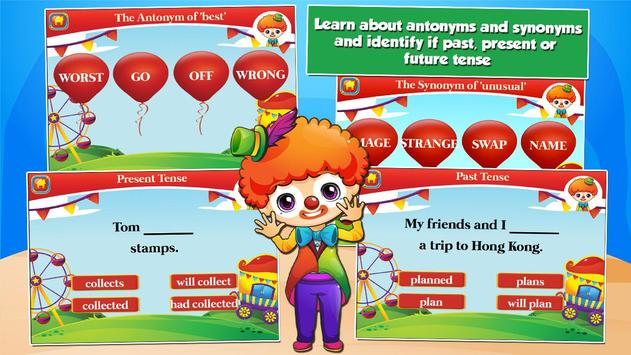 Second Grade Games: Circus Fun screenshot 8