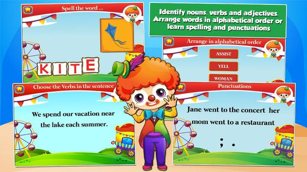 Second Grade Games: Circus Fun screenshot 12