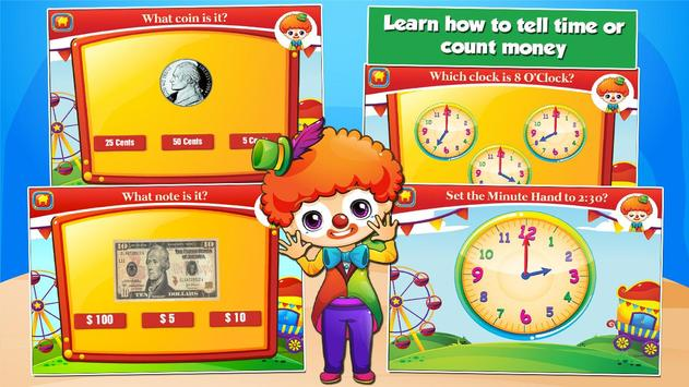 Second Grade Games: Circus Fun screenshot 2