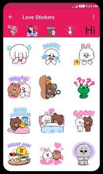 Love Stickers screenshot 2