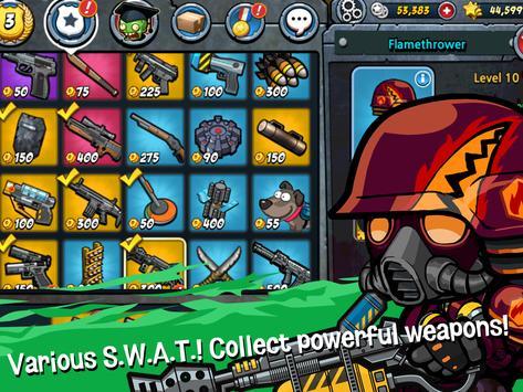 SWAT and Zombies - Defense & Battle syot layar 17
