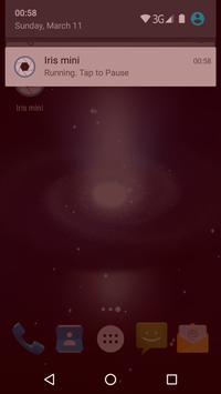 Iris mini poster