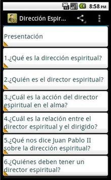 Dirección Espiritual скриншот 1