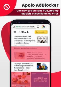 Apolo Browser screenshot 2