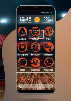 Apolo Basket - Theme, Icon pack, Wallpaper screenshot 1