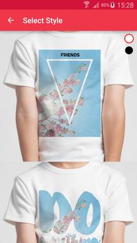 T-shirt design - Snaptee screenshot 4