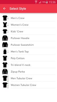 T-shirt design - Snaptee screenshot 6