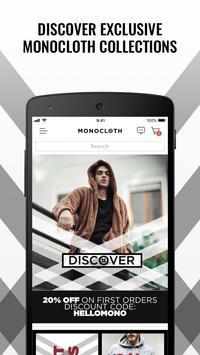 Monocloth poster