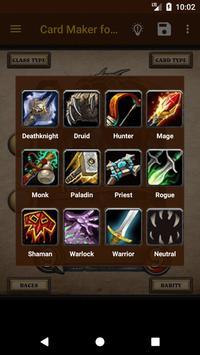 Card Maker for Hearthstone screenshot 1